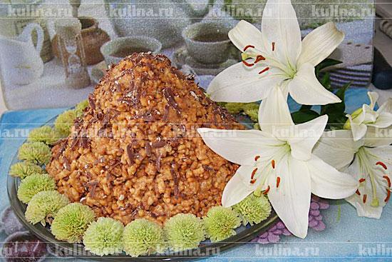 каракулевый торт рецепт с фото