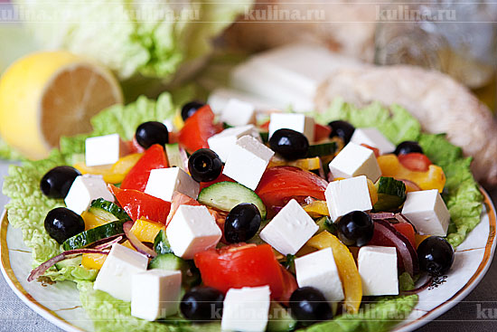 салат чесночник рецепт с фото