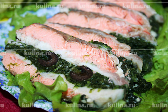 рыбный рулет рецепт фото рецепт