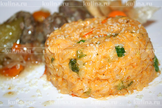 Апельсиновый рис – кулинарный рецепт