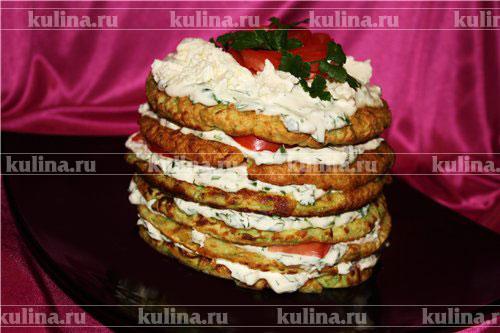 кабачковый торт рецепт приготовления
