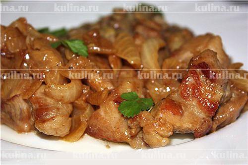 второе блюда из мяса свинины рецепты с фото