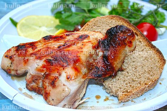 рецепт шашлык из курицы на мангале рецепт с фото из