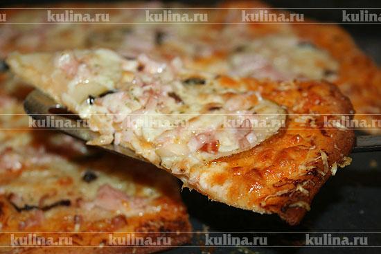 пицца с грушами рецепт