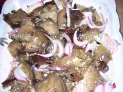Рецепт картошки с говядиной и огурцами