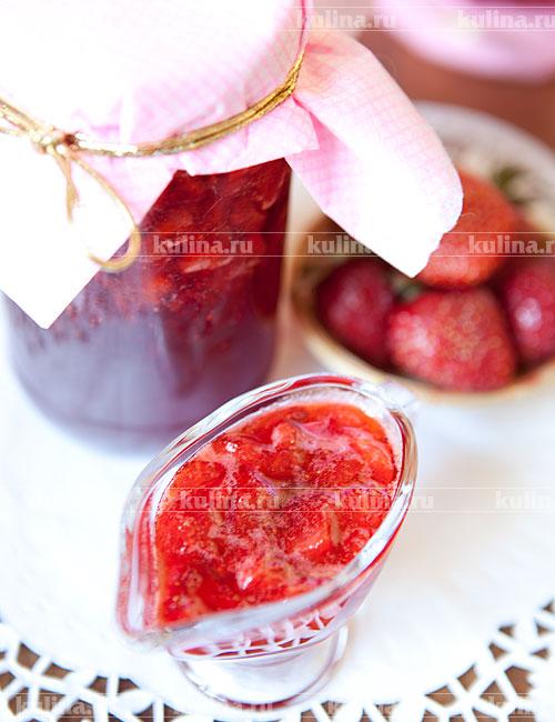 Густое клубничное варенье рецепт с фото