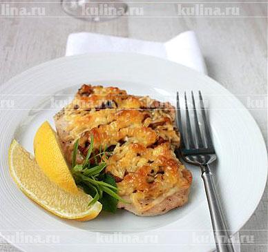 салат змейка рецепт с фото с курицей и грибами