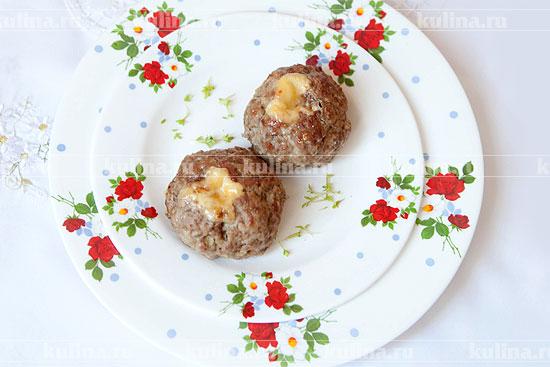 Сочные котлеты с сыром, запеченные в духовке
