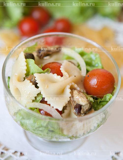 очень вкусный салат с мидиями рецепт