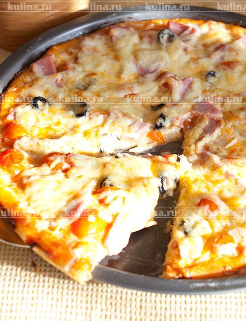 пицца гавайи рецепт с ветчиной