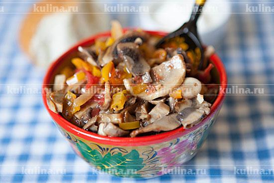 Грибное рагу рецепт пошагово
