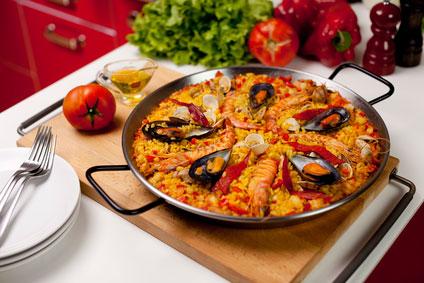 паэлья рецепт с морепродуктами рецепт с фото