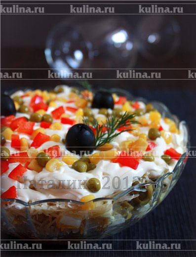 Рецепты салатов из кремля