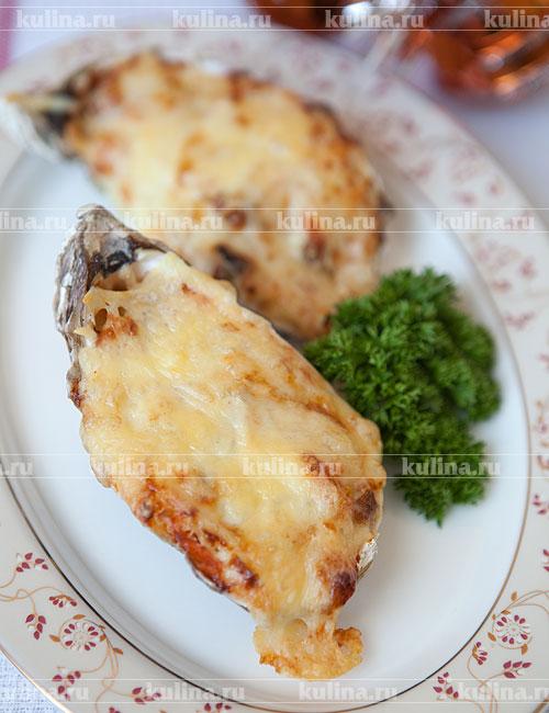 креветки в духовке рецепты с фото