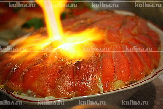 лосось и яйца салат рецепт с фото
