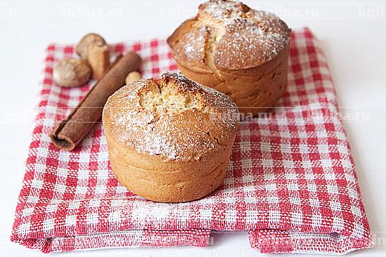 Кекс с корицей – кулинарный рецепт