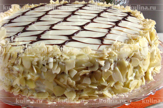 рецепт приготовления торта медовик