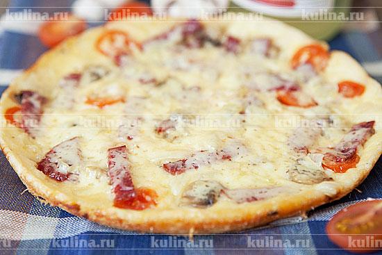 Рецепт тесто для пиццы в мультиварке