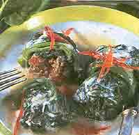 Голубцы из шпината с фаршем – рецепт приготовления с фото от Kulina.Ru рекомендации