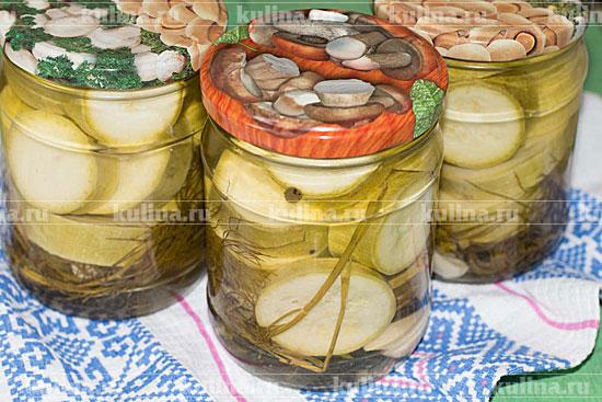 Соление и маринование кабачков