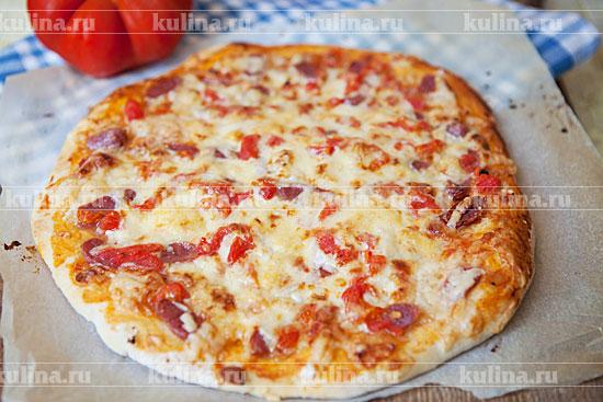 пицца способ приготовления и рецепт