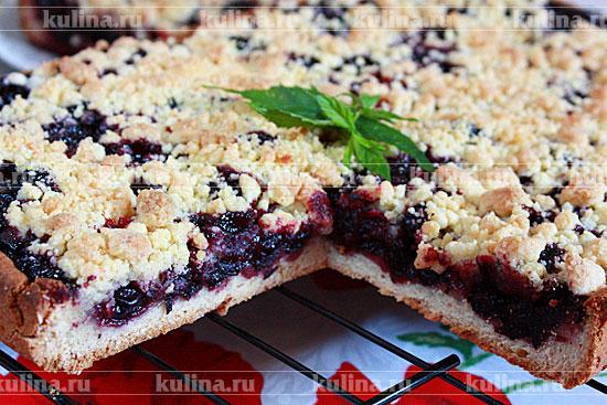 Пироги из черной смородины рецепты с фото