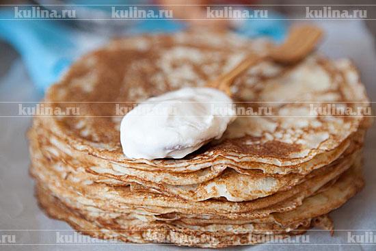 Рецепт вкусных блинчиков на кефире с дырочками рецепт с фото
