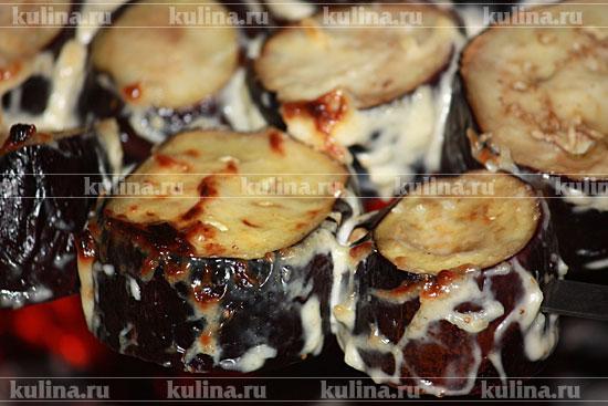 баклажаны на углях рецепт с фото