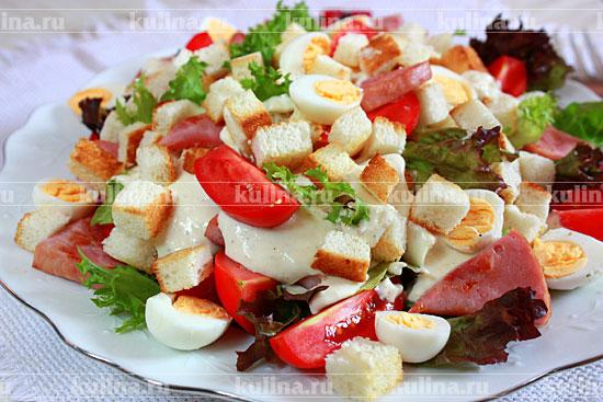 Греческий салат с перепелиными яйцами рецепт