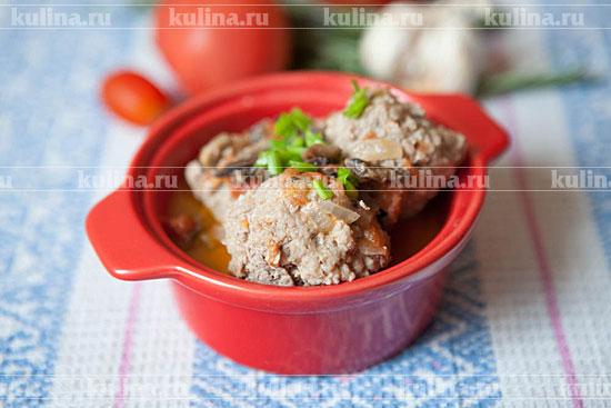 мясные тефтели в мультиварке рецепт с фото