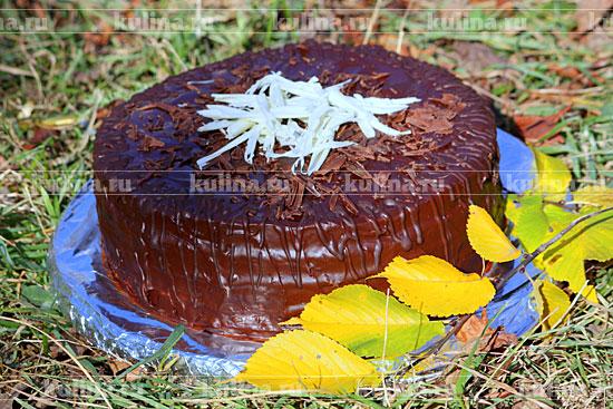 "Торт ""Праздничный"" - рецепт приготовления с фото от Kulina.Ru"
