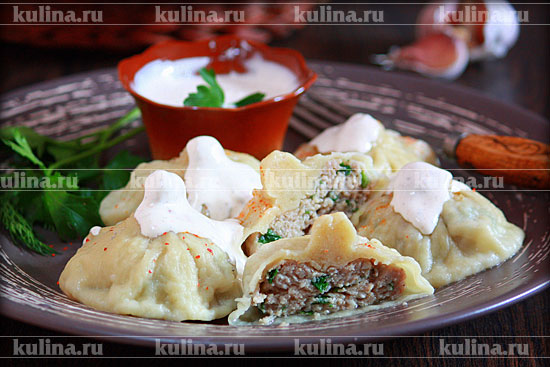 Хинкали по-армянски рецепт пошаговый