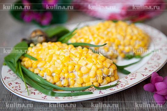 Салат кукуруза рецепт