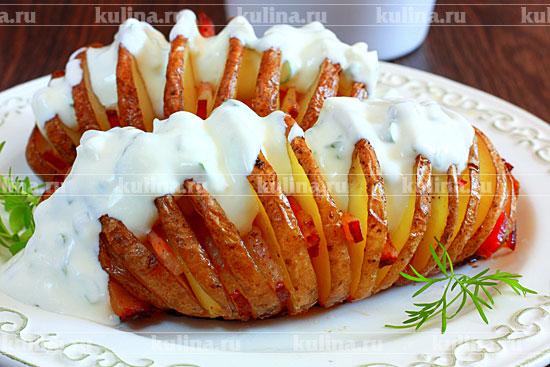картофель с лисичками в духовке рецепт с фото