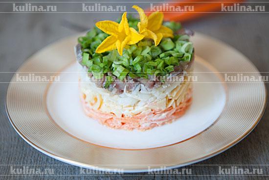 салат с селедкой рецепт фото