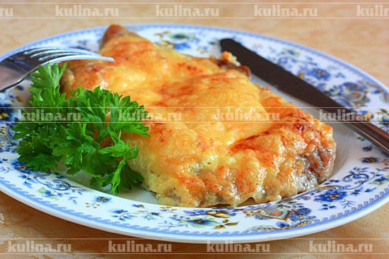 карбонат в духовке с помидорами рецепт