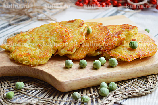 Драники картофельные без муки рецепт фото