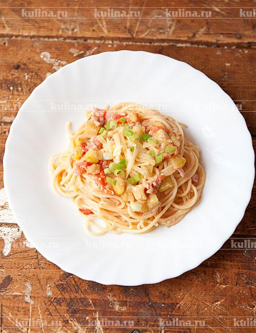 Спагетти в мультиварке