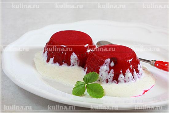 рецепт желе из красной