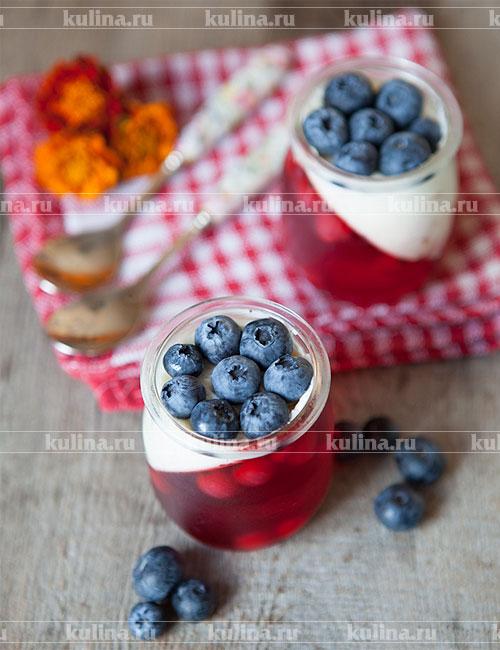 Как сделать желе из ягод фото 864