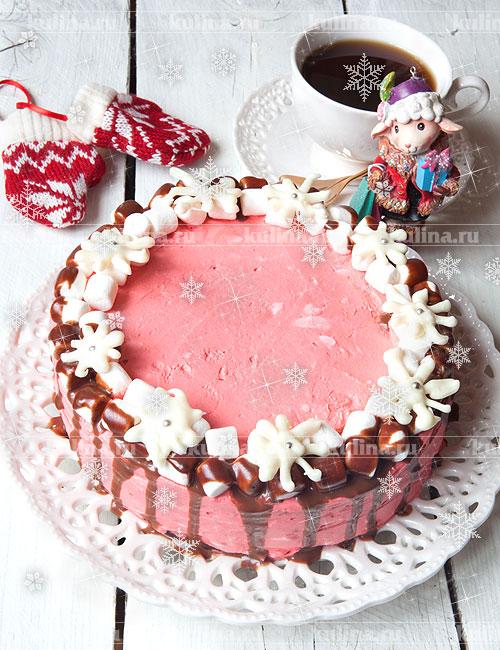 торт брусничный рецепт