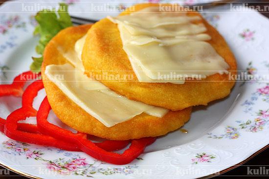 кукурузная лепешка в духовке рецепт с фото