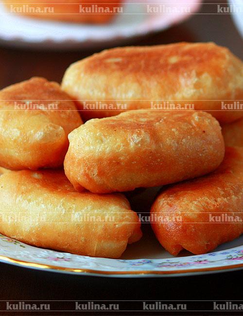 Рецепт жареных пирожков с картошкой  YouTube