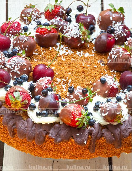 Рецепт приготовления торта медовый с фото