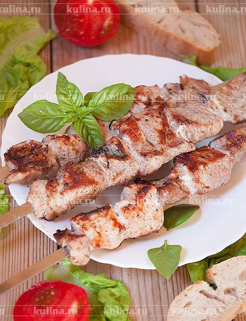 Шашлык из свинины с уксусом  2 рецепта с фото
