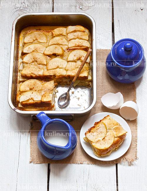 рецепт обычной шарлотки с яблоками в духовке с