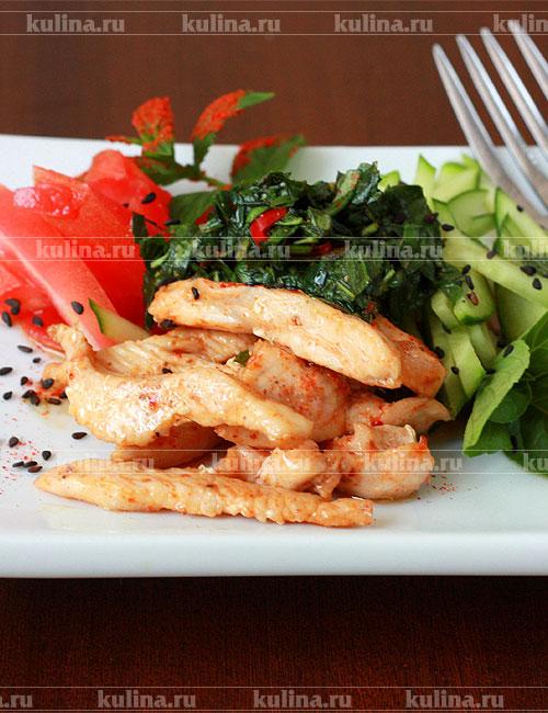 рецепт приготовления удона с курицей и овощами