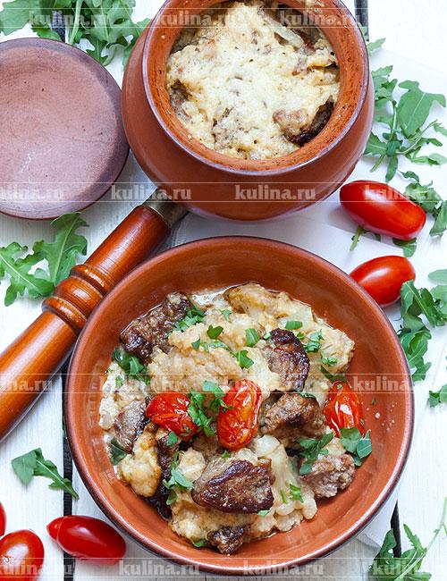 Рецепты приготовления мясо в горшочках