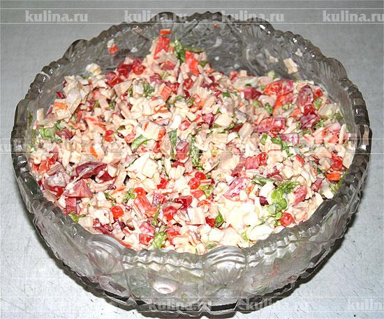 рецепт салат с языком мясной фото