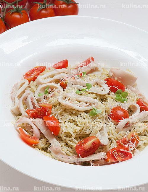 Салаты из кальмаров рецепты приготовления с фото  KulinaRu